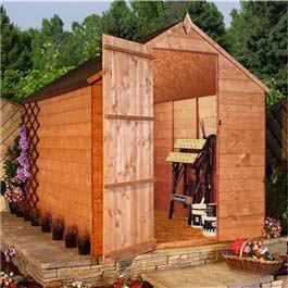 Garden Shed Billyoh Tongue and Groove Value Store 4' x 6' Wooden Shed