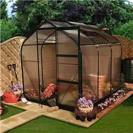 Greenhouse BillyOh Rosette Supreme Complete 8' x 6' Metal Greenhouse