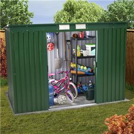 BillyOh Sutton Refurbished Pent Roof Metal Sheds Including Assembly *Only 1 6x4 left in stock*