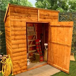 Sheds 5 x 3 20 Pent Economy Store