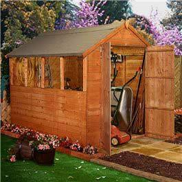 Garden Wooden Shed BillyOh Lincoln Tongue and Groove Apex 7' x 6'