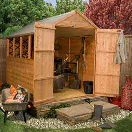 Garden Wooden Shed BillyOh Lincoln Tongue and Groove Apex 6' x 4'