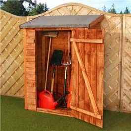 Garden Storage Billyoh Overlap Tool 3'7 x 1'11 Wooden Storage