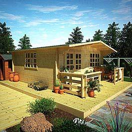 Log Cabin BillyOh Winchester 70mm 5m x 6.5m