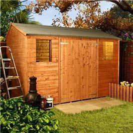 Workman's Hut Premium 10 x 8 Wooden Shed
