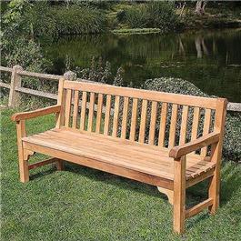 4 Seater Teak Park Bench