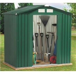 BillyOh Beeston 8 x 10 Metal Shed inc TG Wooden Floor