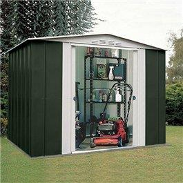 Metal Shed BillyOh Canberra 8'x9'