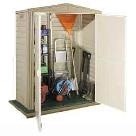 Duramax Little and Large Hut Plastic Shed