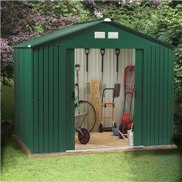 BillyOh Beeston Refurbished 8' Fronted Premium Metal Sheds Including Assembly *Only 1 8 x 6 left in stock*