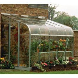Halls Silverline 10 x 6 Lean to Greenhouse
