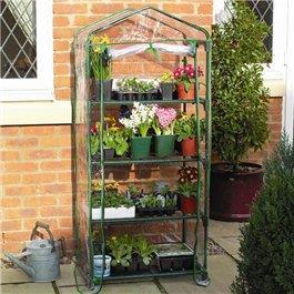 Gardman 4 Tier Growhouse Plastic Greenhouse