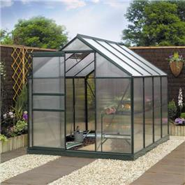 6 x 6 Greenhouse Metal Greenhouse