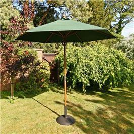 Garden Parasol 2.5m - Green