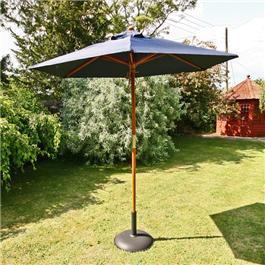 Sturdi Parasols - 2m Hardwood Frame Garden Parasol
