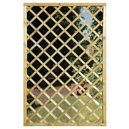 The Garden Mirror Lattice Screen