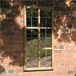 The Garden Mirror Tudor Window