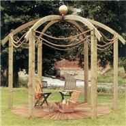 The Jac Flower Domed Pergola