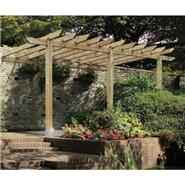 The Burleston Lean to Car Port Pergola