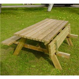 Oblong Picnic Table