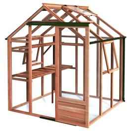 Growhouse Classic Cedar Greenhouse