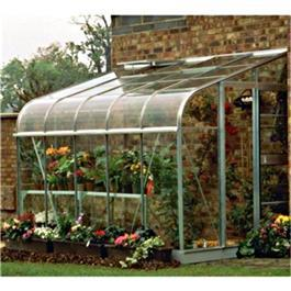 Halls Silverline 12 x 6 lean to Greenhouse