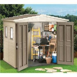 8 x 6 Apex Garden Store Shed Plastic Shed