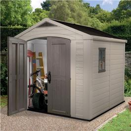 Keter Plastic Sheds - Apollo 8 x 8