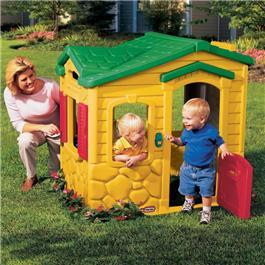 Little Tikes Magic Doorbell Plastic Playhouse