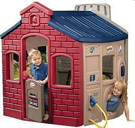 Little Tikes Town Plastic Playhouse - Evergreen