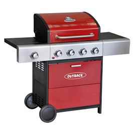 Outback Meteor 3 Burner Gas BBQ Barbecue