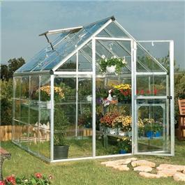 Palram Silverline 6'x6' Polycarbonate Glazed Greenhouses