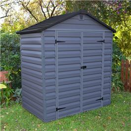 BillyOh Skylight 6' Fronted Apex Plastic Garden Shed - Anthracite