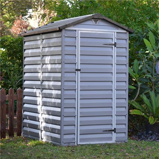 Billyoh Skylight Plastic Garden Shed Anthracite Grey