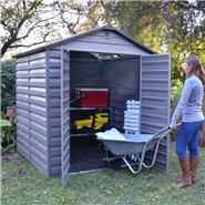 BillyOh Skylight 6' Fronted Apex Plastic Garden Shed
