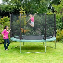 Plum 8ft Round Space Zone Trampoline