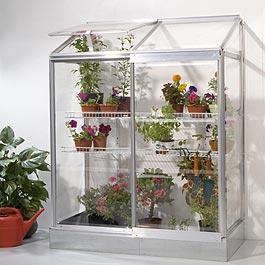 Palram Polycarbonate Glazed Lean To Greenhouse