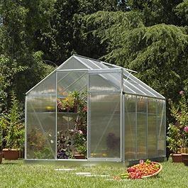 Palram Multi Line 6'x4' Polycarbonate Glazed Greenhouse Metal Greenhouse