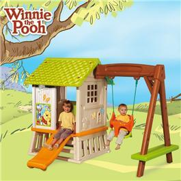 Smoby Winnie the Pooh Hut and Swing