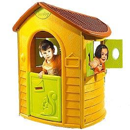 Smoby Woodland Cottage Plastic Resin Playhouse