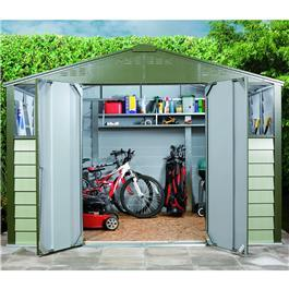 Titan Apex Metal Shed 108