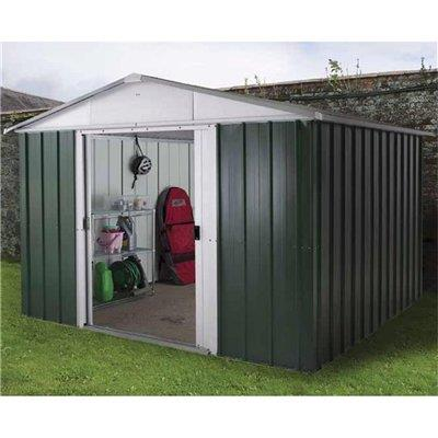 Garden shed metal plastic large small cheap kits storage for Used metal garden sheds for sale
