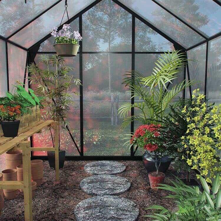 metal greenhouse advantages