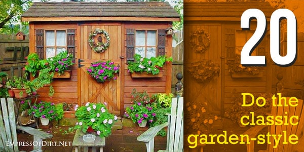 20 Shed Makeover: 23 Creative Ways to Perk Up Your Shed Now