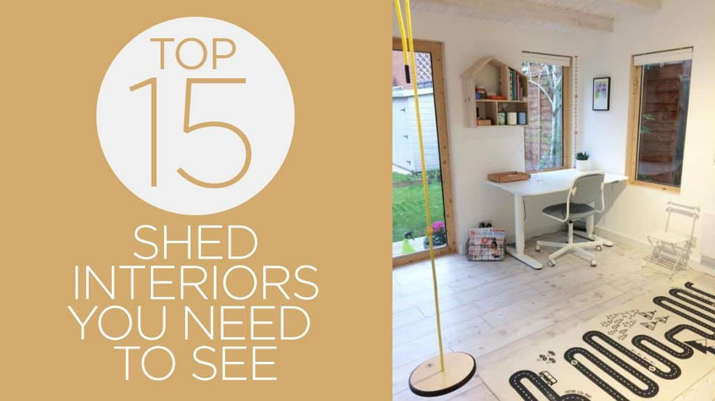 the top 15 garden shed interiors you need to see blog garden