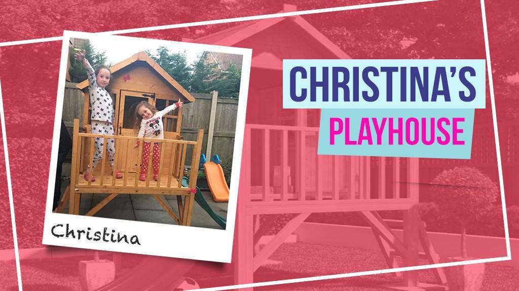 Christina's Bunny Max Tower Playhouse