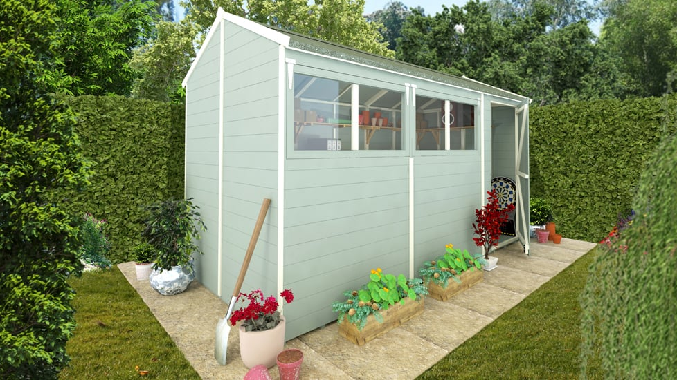 painting a shed ideas joy studio design gallery best. Black Bedroom Furniture Sets. Home Design Ideas