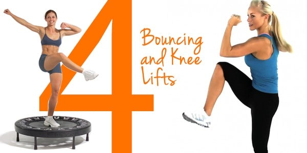 4 2 Lets Talk About Health: 5 Simple Mini Trampoline Exercises