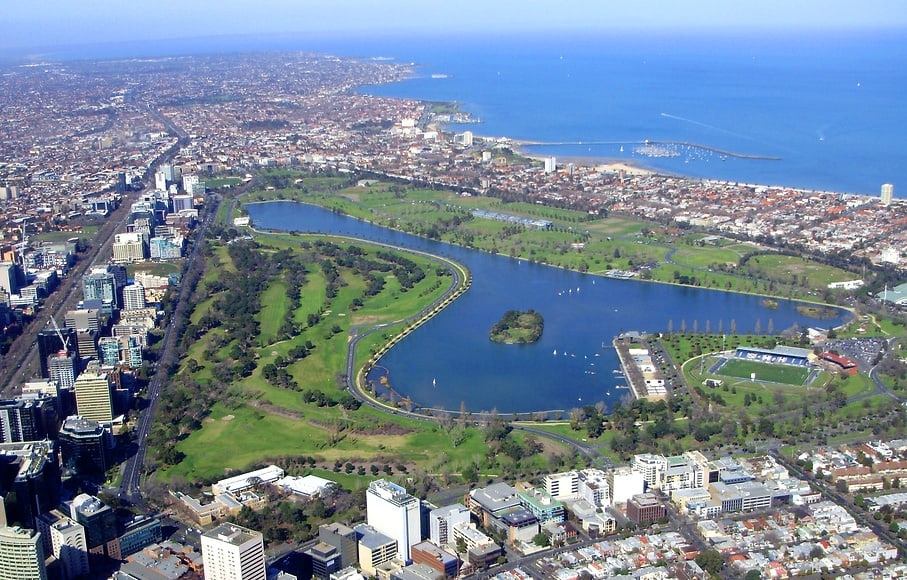 Albert park aerial Australian Grand Prix 2017: Kicking Off F1 Season