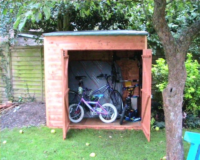 Andy Willis BillyOh Hyper Store Tongue and Groove Pent Garden Storage Unit Inc Floor 5 Surprising Bike Storage Solutions